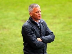 Keith Curle's is hoping to have some players back (Tim Markland/PA)