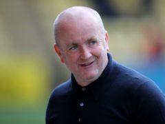 David Martindale praised his goalkeeper (Jane Barlow/PA)