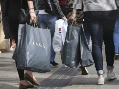 Retail sales in Scotland remain below pre-pandemic levels, figures show (Philip Toscano/PA)