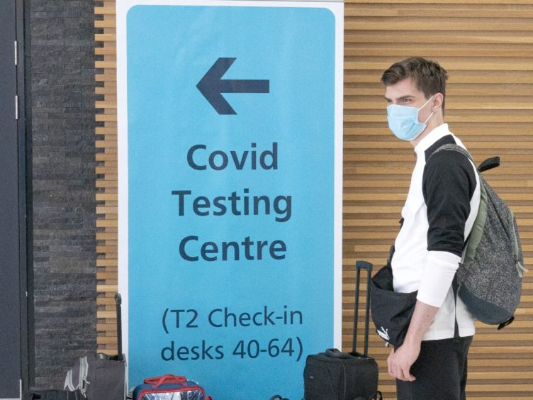 There were 1,381 new cases of coronavirus confirmed in Scotland in the past 24 hours (Jane Barlow/PA)