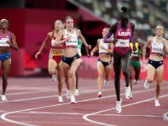 Keely Hodgkinson claimed silver in the 800 metres (Martin Rickett/PA)