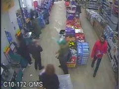 Sudesh Amman buying items in Poundland in the days before his attack (Metropolitan Police/PA)
