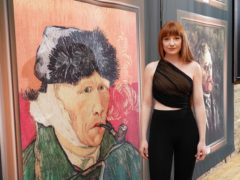 Nicola Roberts at a private viewing of Van Gogh: The Immersive Experience (Ian West/PA)