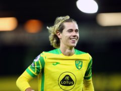 Norwich midfielder Todd Cantwell has been carrying an ankle problem (Nigel French/PA)