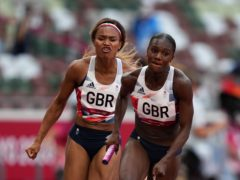 Dina Asher-Smith returned to the track on Thursday (Joe Giddens/PA)