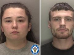 Nicola Priest and Callum Redfern. Priest, who were jailed after being being convicted of the manslaughter of Priest's three-year-old daughter Kaylee-Jayde. (West Midlands Police/PA)