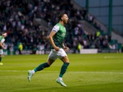 Martin Boyle has signed a new deal with Hibernian (Andrew Milligan/PA)