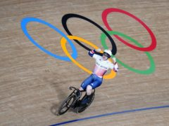 Jack Carlin celebrated Olympic bronze in the men's sprint (Danny Lawson/PA)
