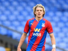 Conor Gallagher impressed on his Crystal Palace debut against Brentford (Ashley Western/PA)
