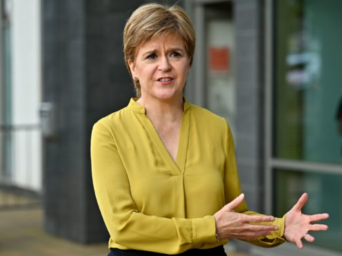 The First Minister is yet to make the Scottish Government's position on Cambo public (Jeff J Mitchell/PA)