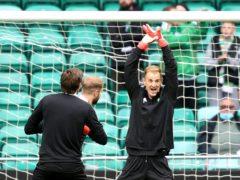 Joe Hart endeared himself to the Celtic fans (Jeff Holmes/PA)