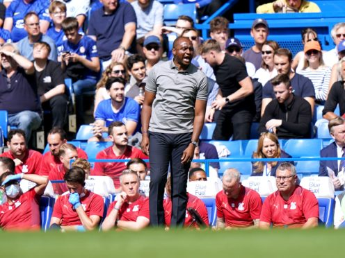 Crystal Palace manager Patrick Vieira knows what to expect from Premier League new boys Brentford (Tess Derry/PA)