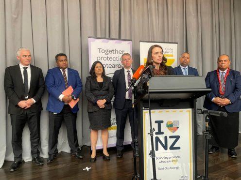 New Zealand Prime Minister Jacinda Ardern (Nick Perry/AP)