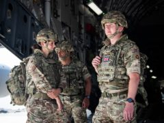 Soldiers from 16 Air Assault Brigade have been deployed to Afghanistan to ensure the safety of British citizens and allies (MoD/PA)