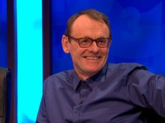 Sean Lock on an episode of 8 Out of 10 Cats Does Countdown. The comedian has died from cancer at the age of 58 (Channel 4/PA)