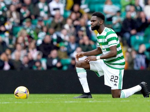 Odsonne Edouard has left Celtic to sign for Crystal Palace (Andrew Milligan/PA)