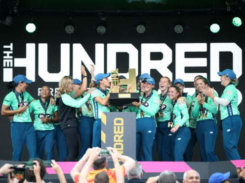 The Hundred concluded with a double header on Saturday (Steven Paston/PA)