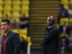Crystal Palace boss Patrick Vieira (right) saw his team lose 1-0 at Watford in the Carabao Cup (Tess Derry/PA)