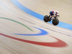 Sarah Storey won the first British gold (Thomas Lovelock/OIS/PA)