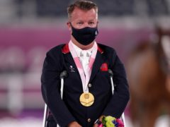 Great Britain's Sir Lee Pearson was once again among the medals (John Walton/PA)