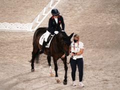 Natasha Baker took silver (Tim Goode/PA)