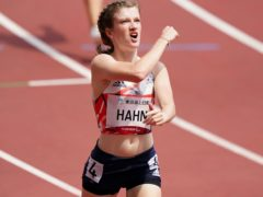 Great Britain's Sophie Hahn made a strong start to her title defence (Tim Goode/PA)