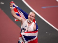 Great Britain's Jonnie Peacock reacts after his bronze medal was confirmed (Tim Goode/PA)