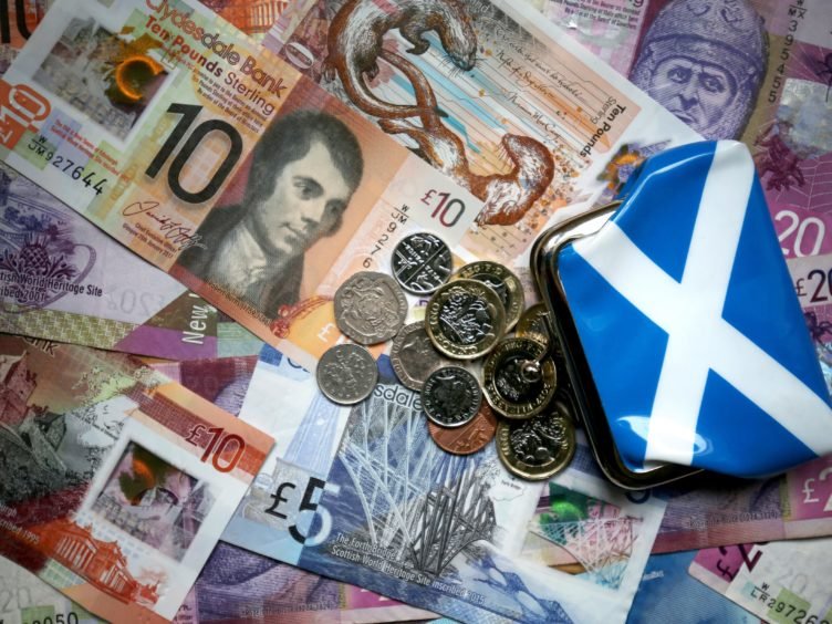 Social security spending in Scotland is forecast to grow to more than £5 billion by 2026-27 (Jane Barlow/PA)