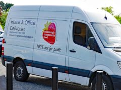 The stolen van has a strawberry logo on its sides and rear (Police Scotland/PA)
