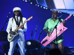 Nile Rodgers says Team GB made everyone feel like heroes after Tokyo success (Ian Gavan/The National Lottery's Team GB Homecoming Event/PA)