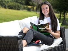 A-level student Leah Morgan who is going to study medicine