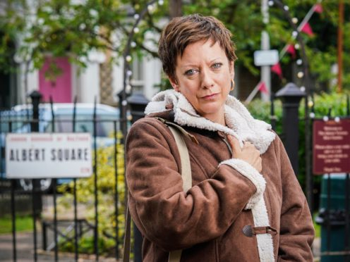 Martha Cope as Sandy Gibson in EastEnders (BBC/PA)