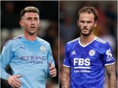 Aymeric Laporte wants to leave Manchester City while James Maddison could depart Leicester for Arsenal, according to the latest transfer gossip (Martin Rickett/Tim Goode/PA)