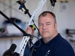 Archer John Stubbs was selected as a flagbearer for ParalympicsGB (imagecomms/ParalympicsGB handout)