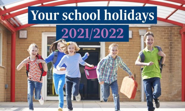 Full details of the Scottish school holiday calendar for 2021 and 2022
