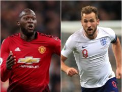 Chelsea are moving to sign Romelu Lukaku (right), while Harry Kane's mooted transfer to Manchester City remains in doubt (John Walton/Mike Egerton/PA)