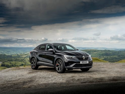 The Arkana is the latest addition to Renault's range of SUVs