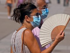 A heat wave is expected to bring scorching temperatures and the threat of wildfires to Spain and Portugal (Paul White/AP)