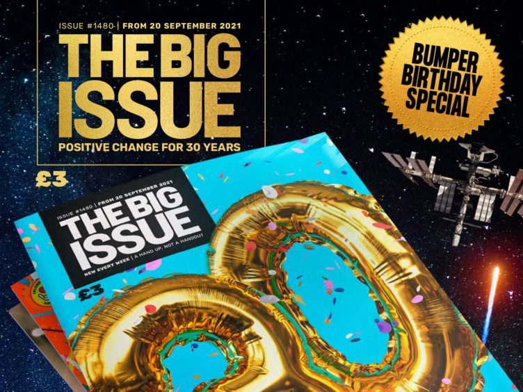 The Big Issue's 30th anniversary edition (The Big Issue/PA)