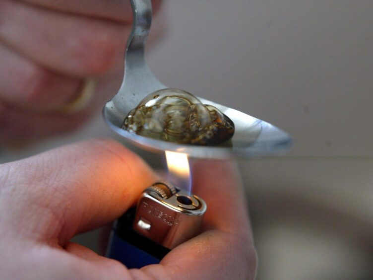 The change means police can issue warnings to those caught with drugs such as heroin or cocaine (PA)