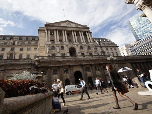 Bank of England (Yui Mok/PA)