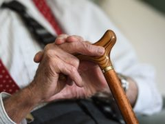 The link between state pension increases and wage growth has been severed for a year (Joe Giddens/PA)