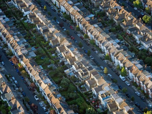 More than half of new mortgage lending is now going to borrowers who will not have paid off their home loan before their 65th birthday, according to UK Finance (Victoria Jones/PA)