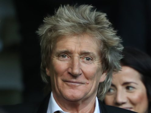 Sir Rod Stewart was knighted by the Queen in 2016 (Andrew Milligan/PA)