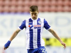 Former Wigan winger Ryan Colclough netted the hosts' winner (Martin Rickett/PA)