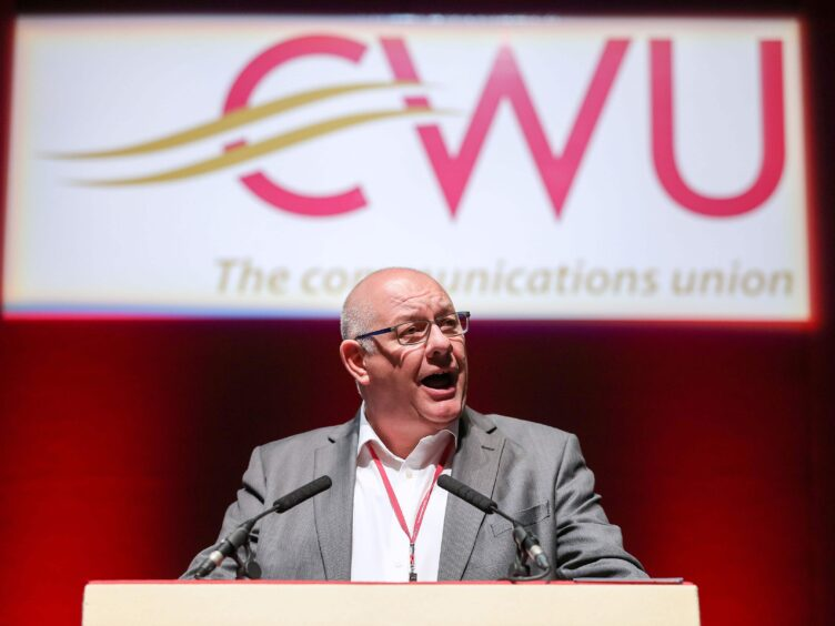 CWU General Secretary Dave Ward said Labour should reassert its commitment to public ownership (PA)