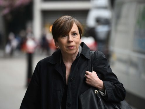 Fran Unsworth will step down as director of news and current affairs at the BBC at the end of January 2022, the corporation has announced (Kirsty O'Connor/PA)