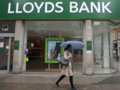 A new £100 switching offer has been launched by Lloyds Bank (Yui Mok/PA)