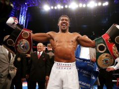 Anthony Joshua defeated Alexander Povetkin on this day in 2018 (Nick Potts/PA)