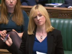 Rosie Duffield says she has been targeted with online threats (PA)